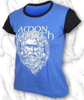 bluzka damska AMON AMARTH niebieska