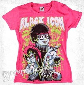 bluzka damska BLACK ICON - SCOOBY (DICON008 PINK) różowa
