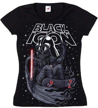 bluzka damska BLACK ICON - VADER (DICON134 BLACK)