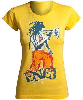 bluzka damska ENEJ - KOZAK żółta