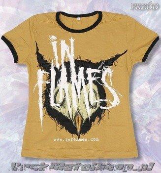 bluzka damska IN FLAMES - WWW.INFLAMES.COM żółta