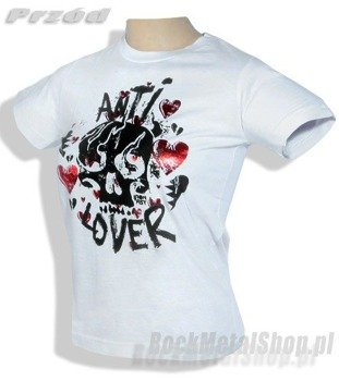 bluzka damska IRON FIST (ANTI LOVER) (WHITE)