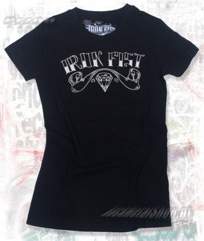 bluzka damska IRON FIST - LOYALTY  (BLACK)