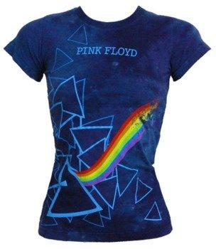 bluzka damska PINK FLOYD - PRISMS, barwiona