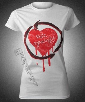bluzka damska RISE AGAINST - ROUGH HEART
