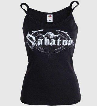 bluzka damska SABATON - EAGLE LOGO, na ramiączkach
