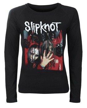 bluzka damska SLIPKNOT - BAND z długim rękawem