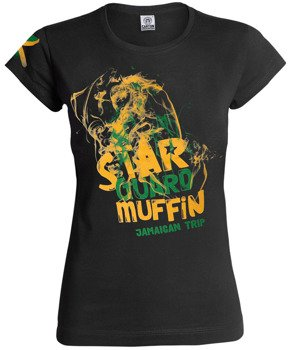 bluzka damska STAR GUARD MUFFIN - JAMAICAN TRIP SMOKE
