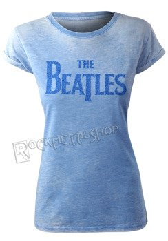 bluzka damska THE BEATLES - DROP T navy