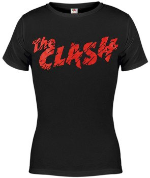 bluzka damska THE CLASH - RED LOGO