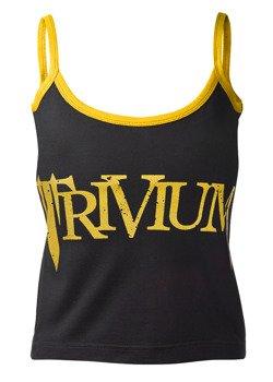 bluzka damska TRIVIUM - LOGO na ramiączkach