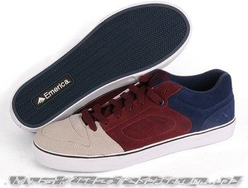 buty EMERICA - FRANCIS LO (RED/WHITE/BLUE )  09'
