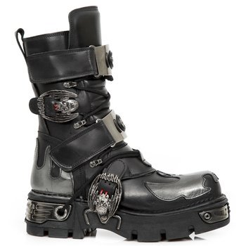 buty NEW ROCK ITALI NEGRO, FLORENTIC ACERO, NEW REACTOR  M.195 S2