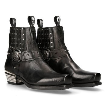 buty NEW ROCK PITON MARRON ANTIK NEGRO WEST NEGRO CUADRADO T DAL [7959-S3]