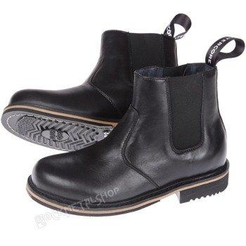 buty motocyklowe ALTERCORE czarne (EBRO BLACK)