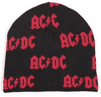 czapka AC/DC - RED LOGO