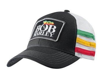 czapka BOB MARLEY -  LOGO STRIPES