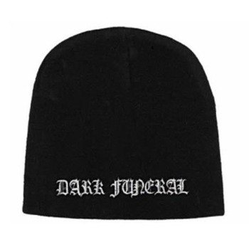 czapka DARK FUNERAL - LOGO, zimowa
