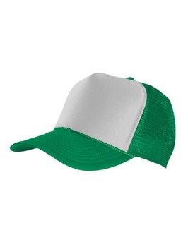 czapka MASTERDIS - BASEBALL CAP TRUCKER, green/white