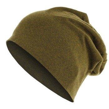 czapka MASTERDIS - HEATHER JERSEY BEANIE yellow