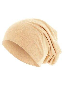 czapka MASTERDIS - PASTEL JERSEY BEANIE peach
