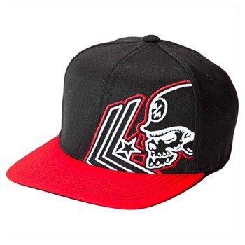 czapka METAL MULISHA - APART black/red