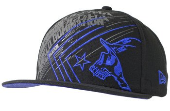 czapka METAL MULISHA - FLARE black/blue