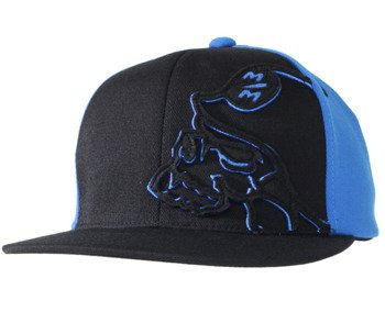 czapka METAL MULISHA - PRIVATE black/blue
