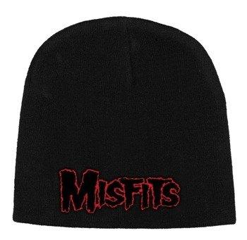 czapka MISFITS - RED LOGO, zimowa