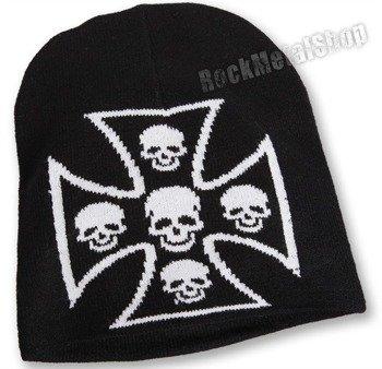 czapka SKULL CROSS
