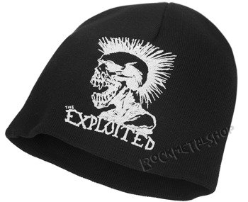czapka THE EXPLOITED - PUNKS NOT DEAD, zimowa