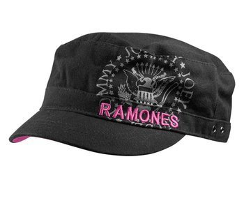 czapka damska RAMONES - Ladies Black Cadet