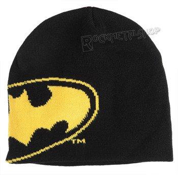 czapka zimowa BATMAN - BIG LOGO OUTLINES czarna