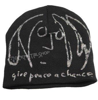 czapka zimowa JOHN LENNON - GIVE PEACE A CHANSE