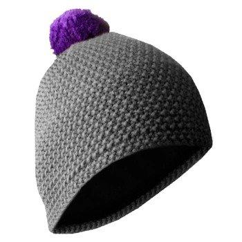czapka zimowa MASTERDIS - BEANIE POLAR grey/purple