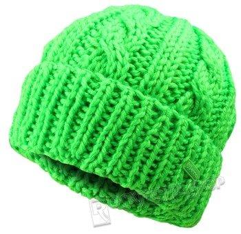 czapka zimowa MASTERDIS - KMA NEON GREEN