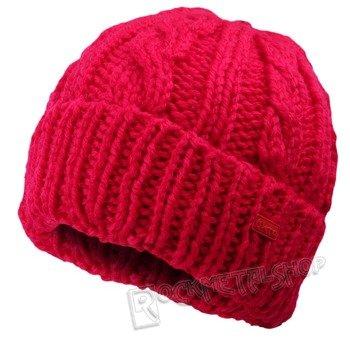 czapka zimowa MASTERDIS - KMA RED