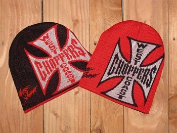czapka zimowa dwustronna WEST COAST CHOPPERS - JJ SIGN