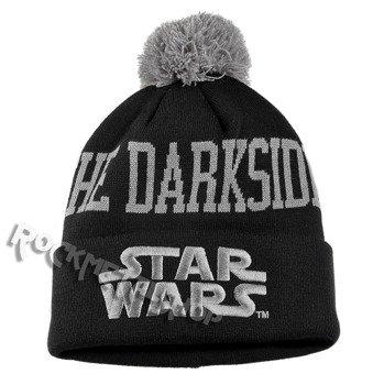 czapka zimowa z pomponem STAR WARS - THE DARKSIDE