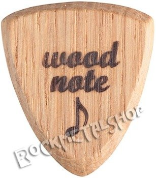 drewniana kostka do gitary WOODNOTE Bull Shield - DĄB