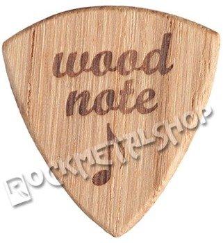 drewniana kostka do gitary WOODNOTE Jazz Shield - DĄB