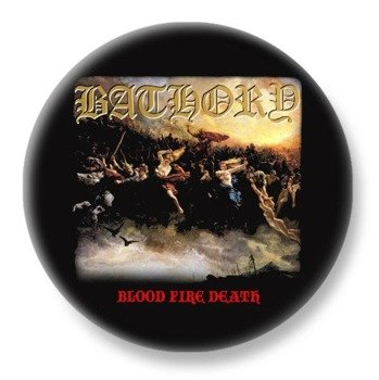 duży kapsel BATHORY - BLOOD FIRE DEATH