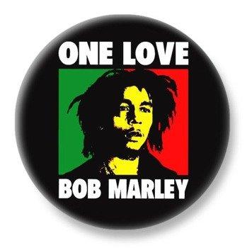 duży kapsel BOB MARLEY - ONE LOVE
