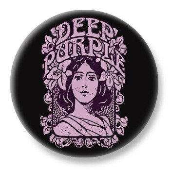 duży kapsel DEEP PURPLE - LOGO