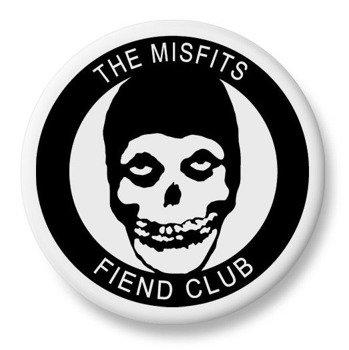 duży kapsel MISFITS - FIEND CLUB