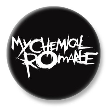 duży kapsel MY CHEMICAL ROMANCE - LOGO