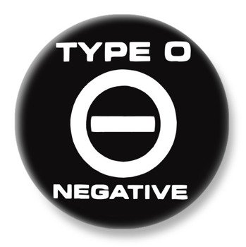 duży kapsel TYPE O NEGATIVE - LOGO