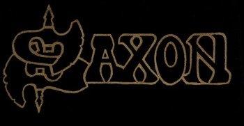 ekran SAXON - GOLD LOGO