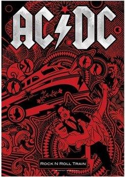 flaga AC/DC - ROCK N ROLL TRAIN