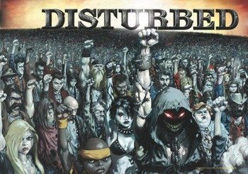 flaga DISTURBED - 1000 FISTS
